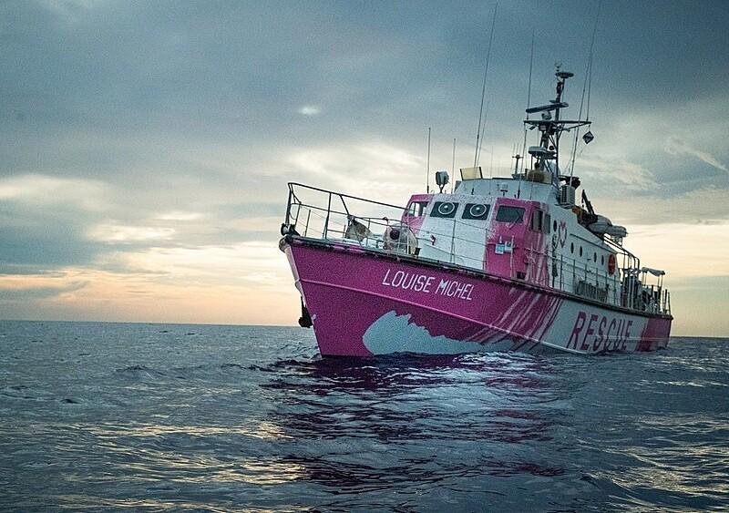 Banksy sfinansował łódź do ratowania uchodźców na Morzu Śródziemnym