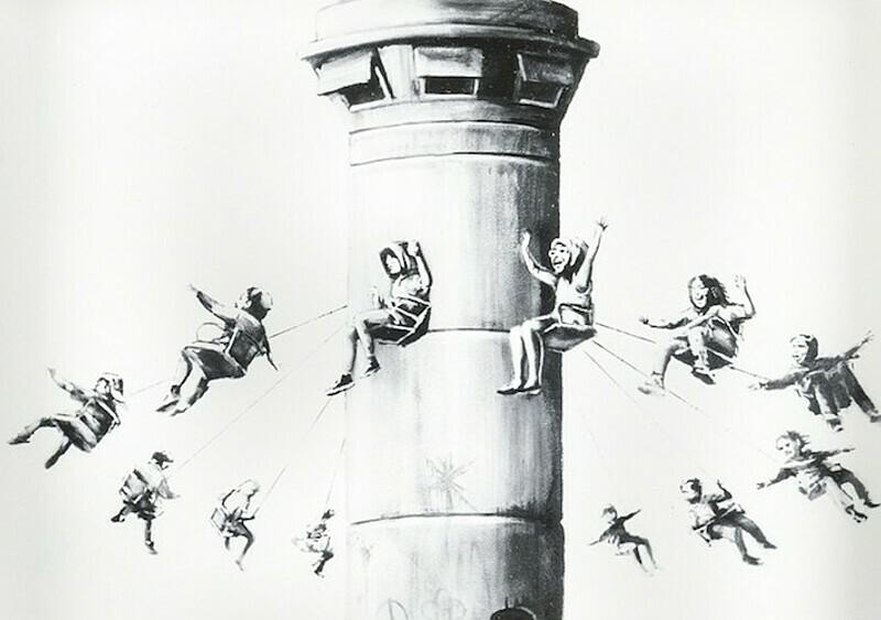 W weekend w Warszawie będziecie mogli kupić prace Banksy'ego za max 5 tys. zł. To nie żart!